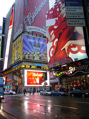 Photo of Times Square New York